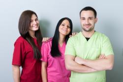 three caregivers